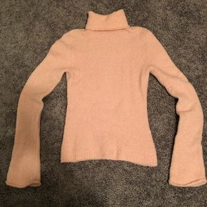 Light pink Super soft Turtle neck sweater
